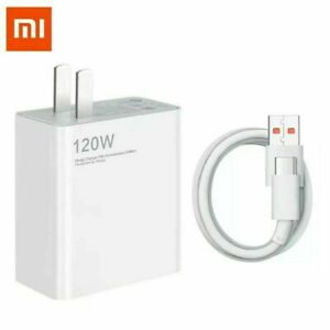 Xiaomi 120W Quick Charge USB Wall Charger For Xiaomi Mi 10/10T/11 Ultra