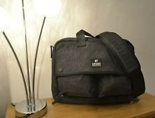 Superdry Surplus NY Satchel Record laptop Bag hold all padded dark grey 40x30cm