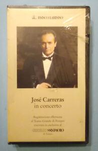 VHS Film Ita Musicale JOSE'CARRERAS In Concerto Josè Sutej no dvd cd lp mc (V55)