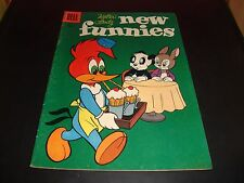 Woody Woodpecker Walter Lantz New Funnies #231 1956 Dell Comic Book VG 5.5