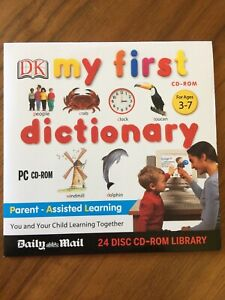PC CD-ROM My First Dictionary (Ages 3-7)  DK / Daily Mail Promo