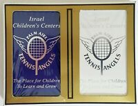 Israel Children's Centers / Palm Aire Tennis Angels Playing Cards Set of Two