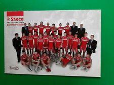 CYCLISME carte équipe cycliste SAECO cannondale 2004