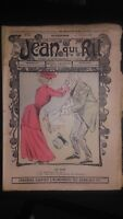 Revista Jean Que Rit N º 295 1906 Journal Demuestra que Aparecen El Viernes ABE