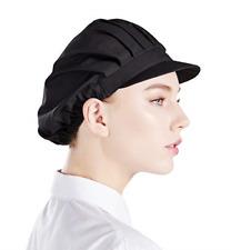 Nanxson 3pcs Unisex Chef Hat Elastic Chef Cap Kitchen Baking Cooking Hat for Men