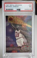 Michael Jordan 1997 Skybox Metal Universe #23 PSA 7 NM Bulls 🔥