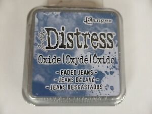 *NEW* (Ranger) TIM HOLTZ Distress OXIDE *Faded Jeans* (Full Sized Ink Pad)