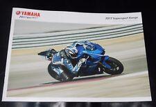 Yamaha Supersport Brochure 2017 - YZF-R1M YZF-R1 YZF-R6 YZF-R3 YZF-R125