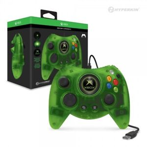 Hyperkin Xbox One Duke Wired USB Controller Green for Xbox One / Windows 10 PC
