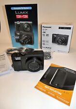 Panasonic LUMIX DC-TZ91 / DC-ZS70 20.3MP Digitalkamera - Schwarz