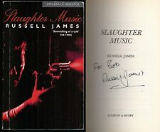 Russell James - Slaughter Music - Signed - 1st/1st