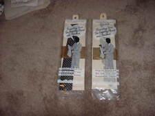 VINTAGE NECKTIE DRY CLEANING PROP ART MONTE CARLO TIE PACK 60s 50s LOT OF 2 BAGS