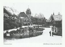 """*Postcard-""""Tyrolean Alps"""" *1904 World's Fair- *St Louis MO (#349)"""