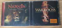 (FREE SHIPPING,NEW-SEALED) MOVIE CDs WAR ROOM THE CHRONICLES OF NARNIA