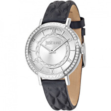 Watch girl just cavalli r7251527504 with Leather Strap Black