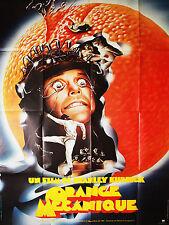 Affiche 120x160cm ORANGE MECANIQUE / A CLOCKWORK ORANGE 1971 Stanley Kubrick TBE