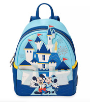 NEW Mickey and Minnie Mouse Mini Backpack Loungefly Disneyland 65th Anniversary!