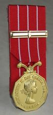 Canada - CD , Canadian Decorations Medal & Bar , Court Mounting Full Size