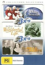 WHITE CHRISTMAS / IT'S A WONDERFUL LIFE / BELLS OF ST.MARY'S  -  DVD - REGION 4