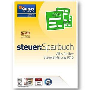 Buhl WISO Steuer Sparbuch 2017 (für Steuerjahr 2016) 1 PC ESD Download GreenIT
