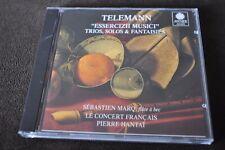 """Telemann: """"Essercizii Musici"""" Trios, Solos & Fantaisies CD 1995 Astree France"""