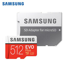 Samsung 512GB EVO Plus Micro SDXC TF Memory Card C10 UHS-3 w/Adapter + Tracking