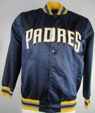 San Diego Padres Starter Jacket Men's Snap-Up Light Weight Satin MLB L