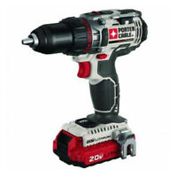 "Porter-Cable 20V Max Li-Ion 1/2"" Drill Driver Kit PCC606LA New"