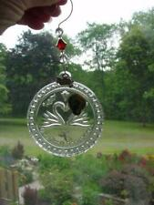 WATERFORD Crystal - Our First Christmas together ORNAMENT - heart swan