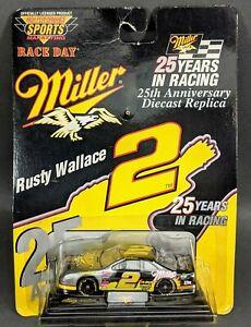 NASCAR #2 Rusty Wallace Miller Lite 25th Anniversary Diecast Replica 1:64