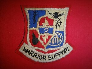 US 2nd Support Battalion 25th Infantry Division Vietnam War Hand Made Patch