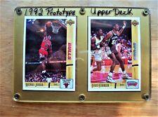 1992 UPPER DECK PROTOTYPE NBA CARDS JORDAN & ROBINSON NOT AVAILABLE IN SET