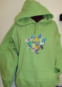 Heart of Hope Embroidered Hooded Sweatshirt