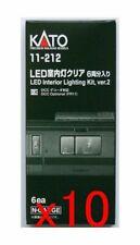 10x Kato 11-212 LED Interior Lighting Kit (Ver. 2) 6 pcs. (N scale) *Value Set*
