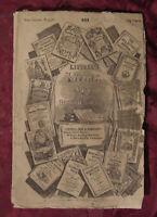 RARE Littell's Living Age 501 24 December 1853 Madame de Stael Maria Norris