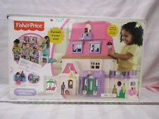Fisher price Loving Family Dollhouse NIB unopened BFR49-9993 w/ mom dad baby