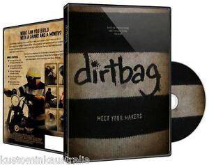 """DIRTBAG"" motorcycle DVD"