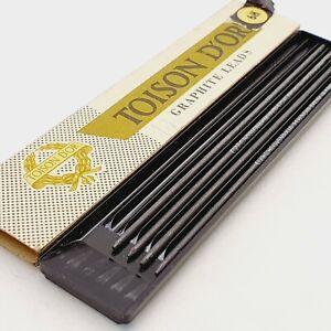 Vintage clutch mechanical pencil 1.8mm lead TOISON D'OR Czechoslovakia 6H. 13