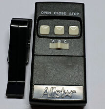 Allstar 109025 Garage Door Opener Remote 8833TC-OCS Open Close Stop 190-109025