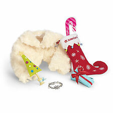 """American Girl MY AG HOLIDAY ACCESSORIES BROCADE & SPARKLE PARTY 2013 18"""" Dolls"""
