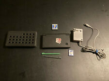 Nintendo DSi Black Handheld Console Bundle