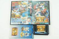 Gunstar Heroes Genesis Sega Megadrive Box From Japan