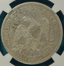 1853 Arrows and Rays Seated Liberty Half Dollar NGC VF30- Nice Looking Example