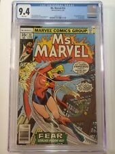 MS. MARVEL #14 (CGC 9.4) 1978 MAXWELL PLUMM BECOMES the new STEEPLEJACK! DRACULA