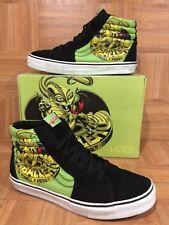 RARE🔥 VANS Sk8-Hi LX Steve Caballero Lizard Lime Green Black Sz 13 Men's Shoes