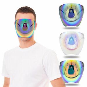 Multicolor Protective Sunglasses Lightweight Visor Full Face Cover UV Men& Women