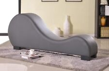 Leather Kamasutra Tantra Couch Sex Furniture Loveseat Exotic Sofa Erotic Lounge