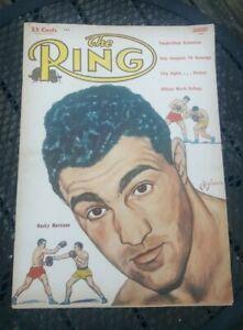 The Ring Boxing Magazine. January 1954. Rocky Marciano.