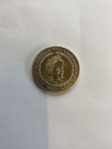 FIVE POUND COIN 1900 - 2002 The Queens mother portrait £5