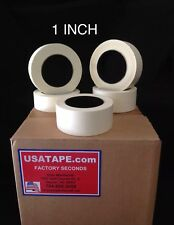 """Lot Of 48 Rolls 1"""" X 60 Yrds General Purpose Masking Tape MADE IN USA Painters"""